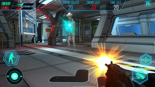 Alien Space Shooter 3D screenshot 2