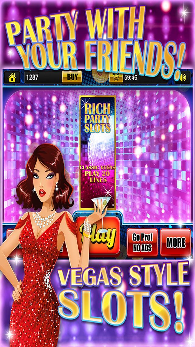 Ace Classic Rich Bad Boy Vegas Slots - Crazy Party Bash Casino Slot Machine Games HD screenshot 1