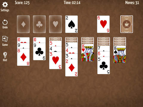 Café Solitaire screenshot 4