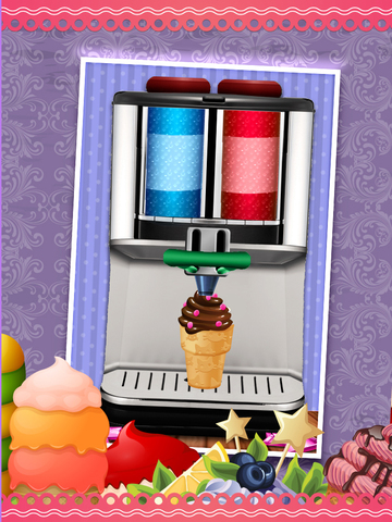 A All-in-1 Froyo Maker Ice Cream Parlor - Deluxe Yogurt Dessert Creator screenshot 8