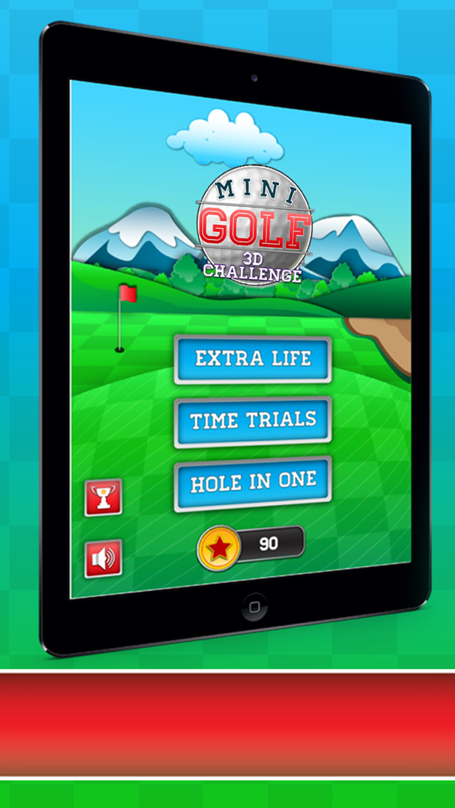 Mini Golf 3D Challenge screenshot 3