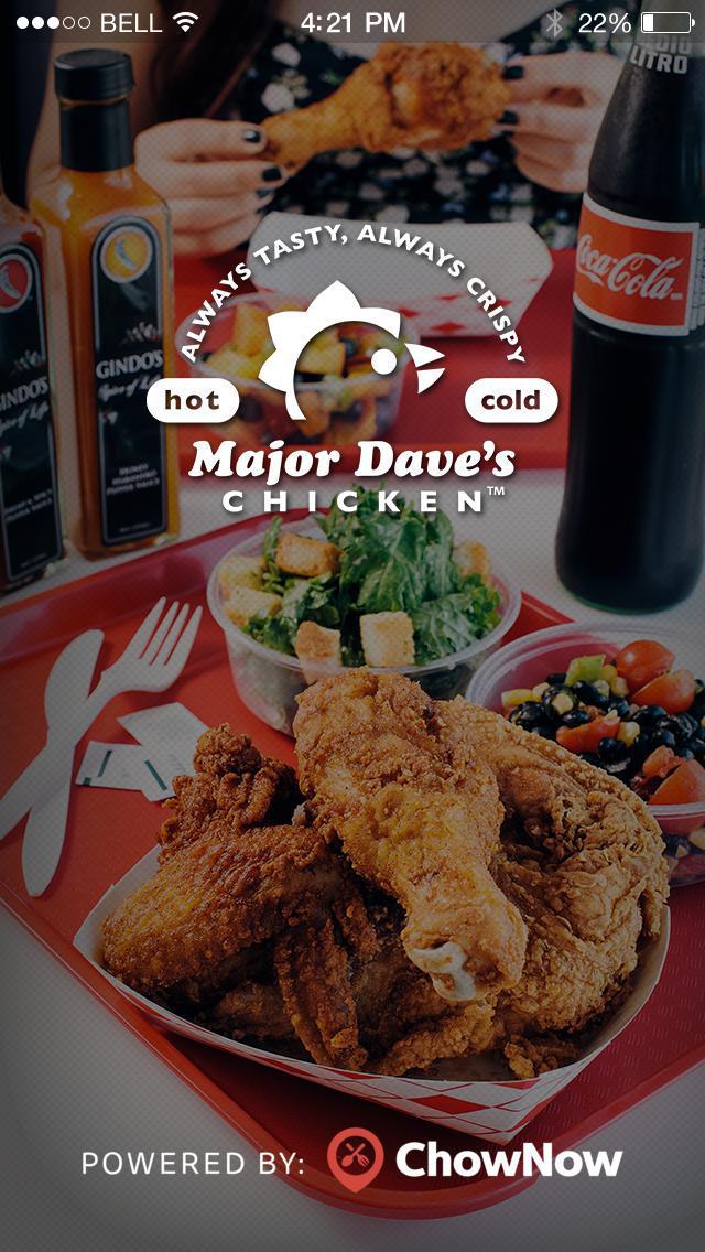 Major Dave's Chicken screenshot 1