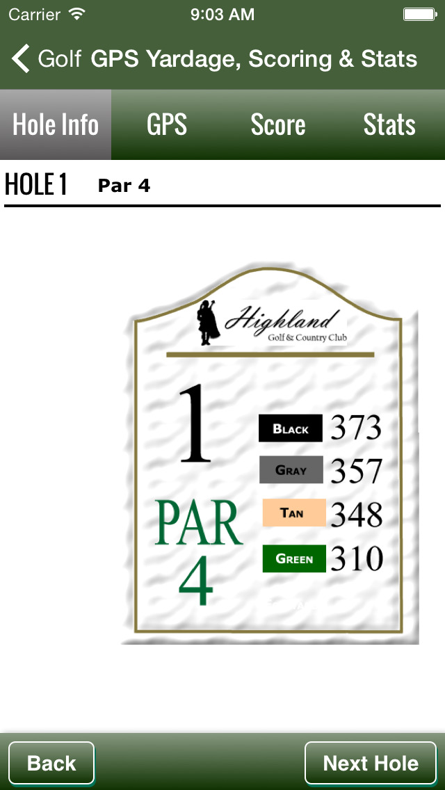Highland Golf & Country Club screenshot 3