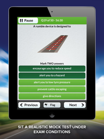 Theory Test Free for Car Drivers HD screenshot #1