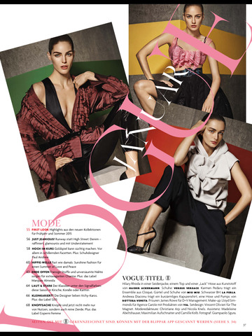 Vogue (Deutsch) screenshot 10