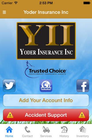 Yoder Insurance - náhled