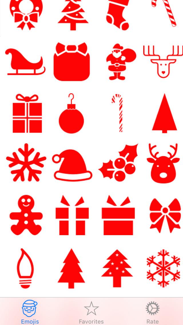 Christmas Emojis.Free Christmas Emojis Apps 148apps