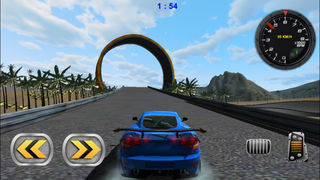 3D Stunt Car Race - eXtreme Racing Stunts Cars Driving Drift Games screenshot 4