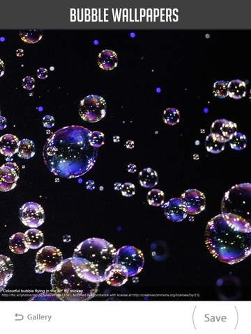 Bubble Wallpapers screenshot 7