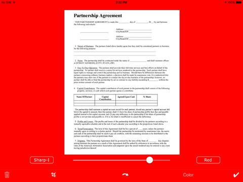 SmartScan PDF PRO HD - náhled