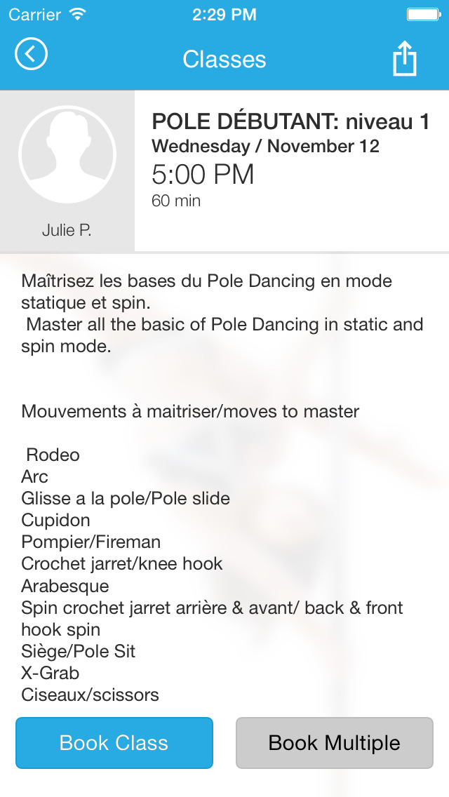 POLE FITNESS MONTREAL screenshot #4
