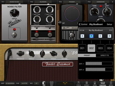 AmpliTube Fender™ for iPad screenshot 5