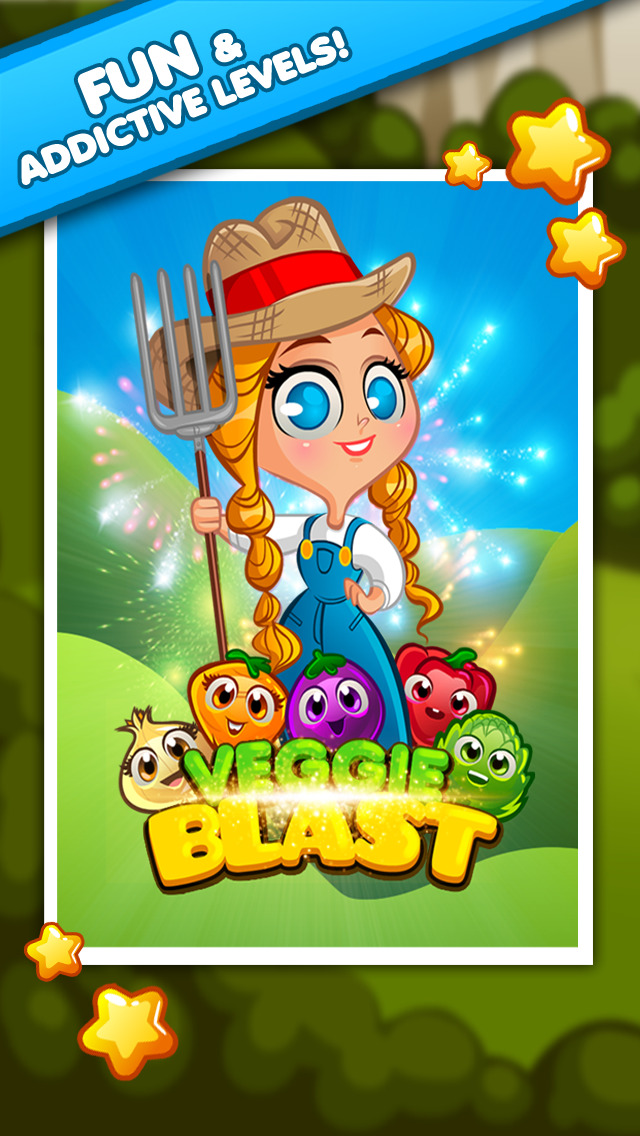Veggie Blast screenshot #4