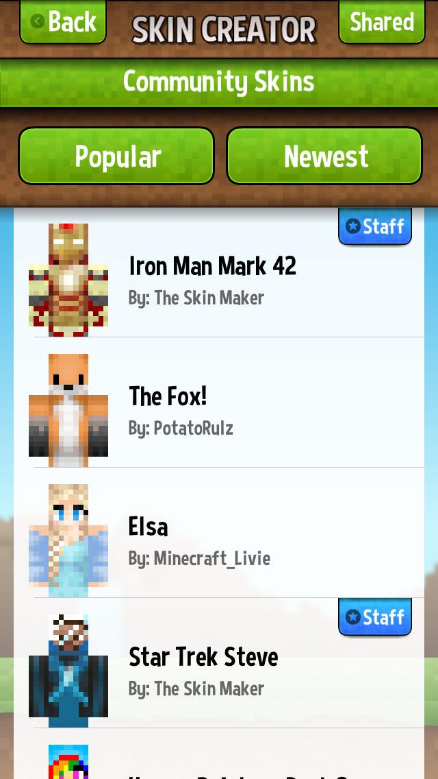 Skin Creator For Minecraft Free | Minecraft Skins | Apps | 148Apps