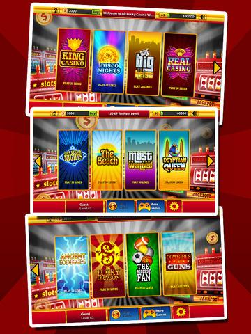`Ace Win Royal Gold Poker Casino Coin Jackpot Slots - Slot Machine with Blackjack, Solitaire, Roulette, Bonus Prize Wheel screenshot 8