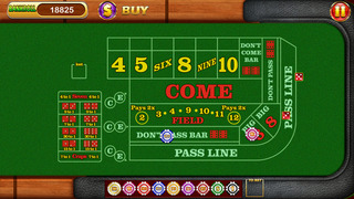 `7-11 - Las Vegas Casino Craps Dice Free screenshot 2