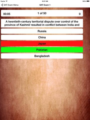 SAT World History Buddy 2019 screenshot 7