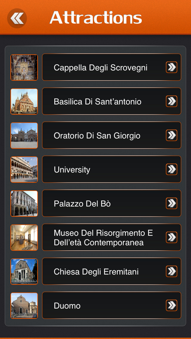 Padua City Offline Travel Guide screenshot 3