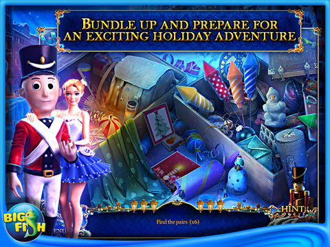 Christmas Stories: Hans Christian Andersen's Tin Soldier HD - The Best Holiday Hidden Objects Adventure Game (Full) screenshot 2