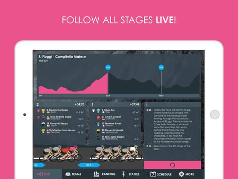 Giro d'Italia 2015 edition Pro - Cycling Tour App screenshot 6
