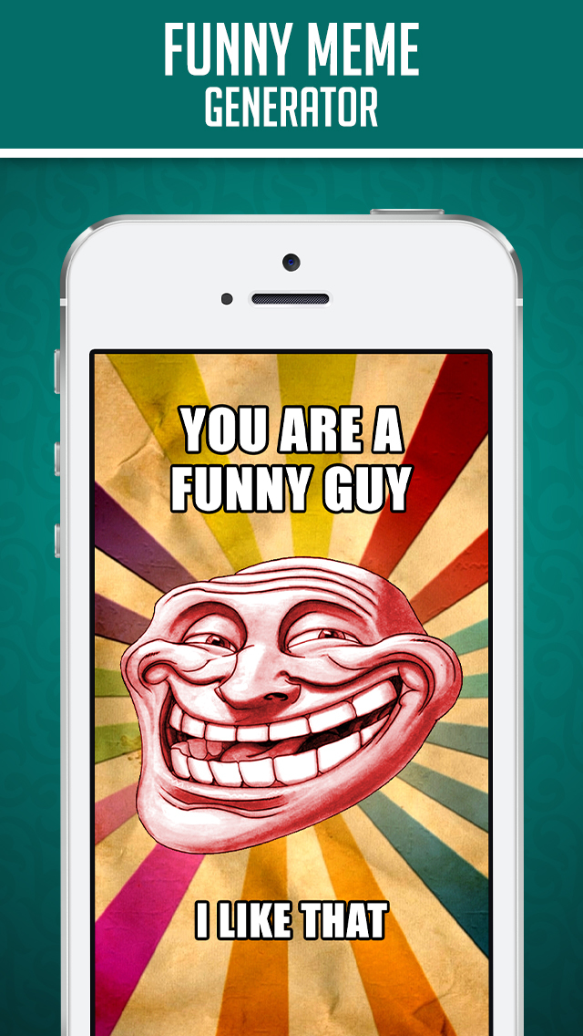 Funny Insta Meme Generator - Make Custom Memes with LOL pics,Troll Wallpapers & GIF Photos screenshot 1