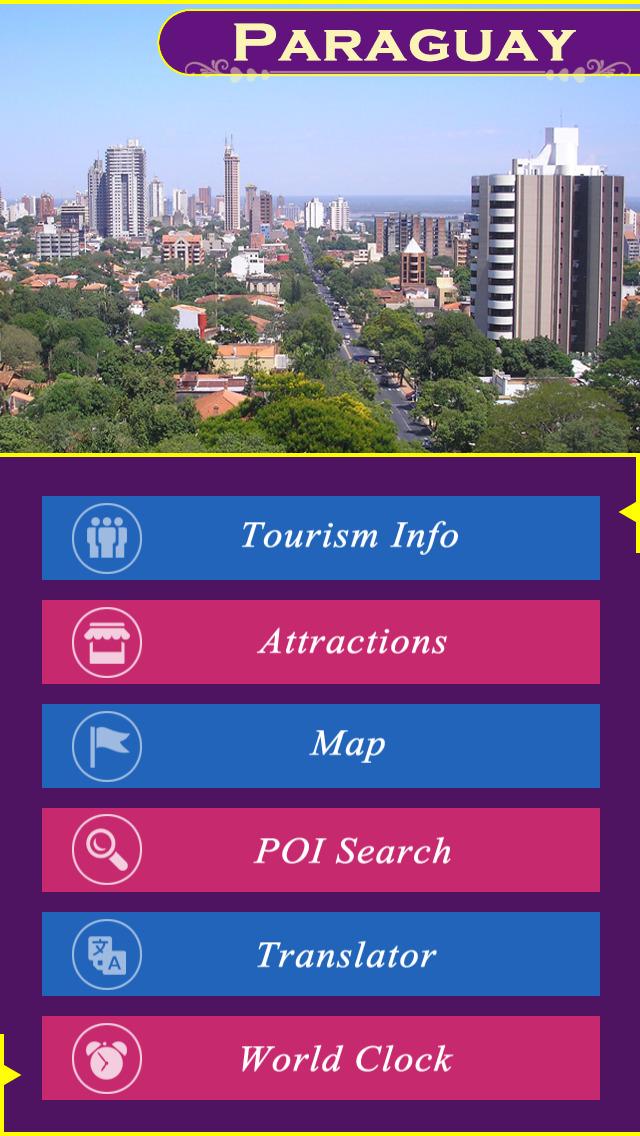 Paraguay Tourism Guide screenshot 2