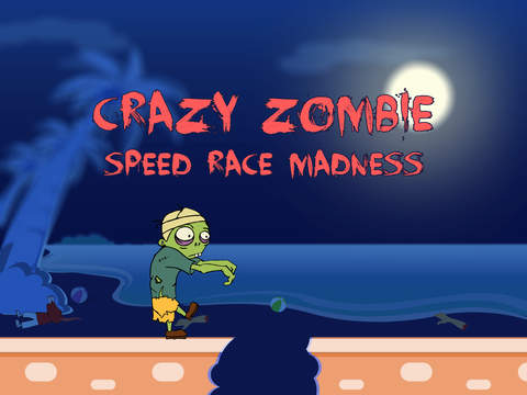 Crazy Zombie Speed Race Madness - new virtual street racing game screenshot 4