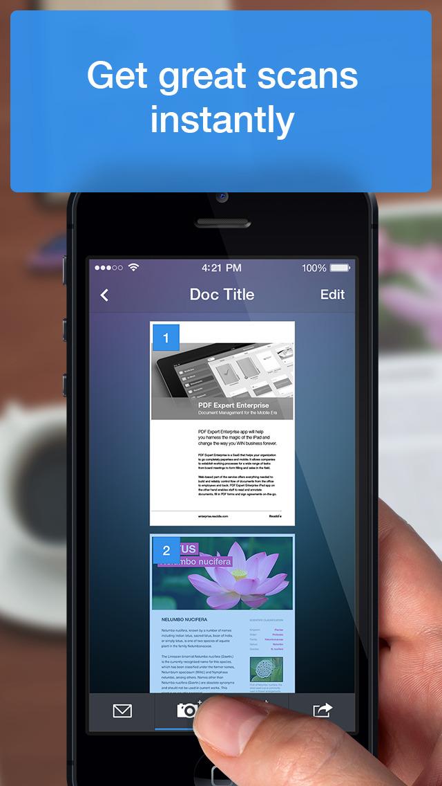 Scanner Mini - PDF scanner app with OCR screenshot 3