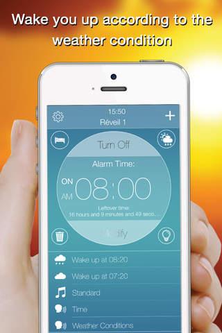 Genius Alarm- Weather Smart Alarm Clock, Set up wa - náhled