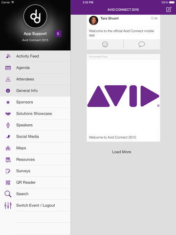 Avid Connect 2015 screenshot 4