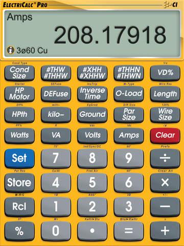 ElectriCalc Pro screenshot 5
