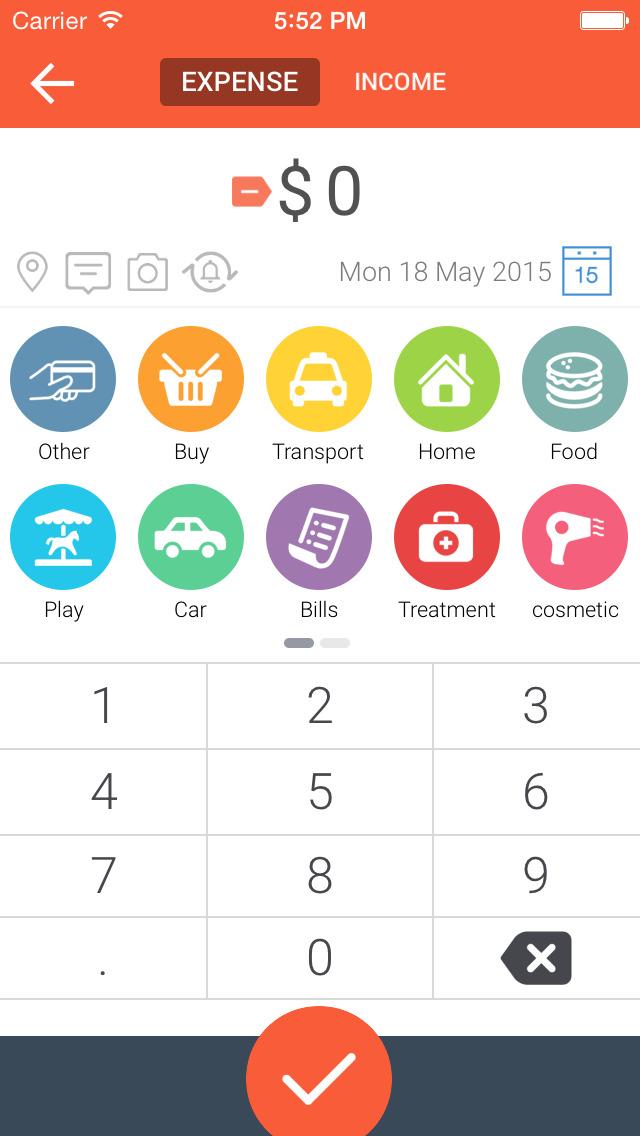 Life Budget - Personal Finance & Money Management screenshot 2