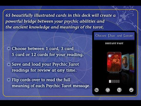 The Psychic Tarot Oracle Cards - John Holland screenshot 5