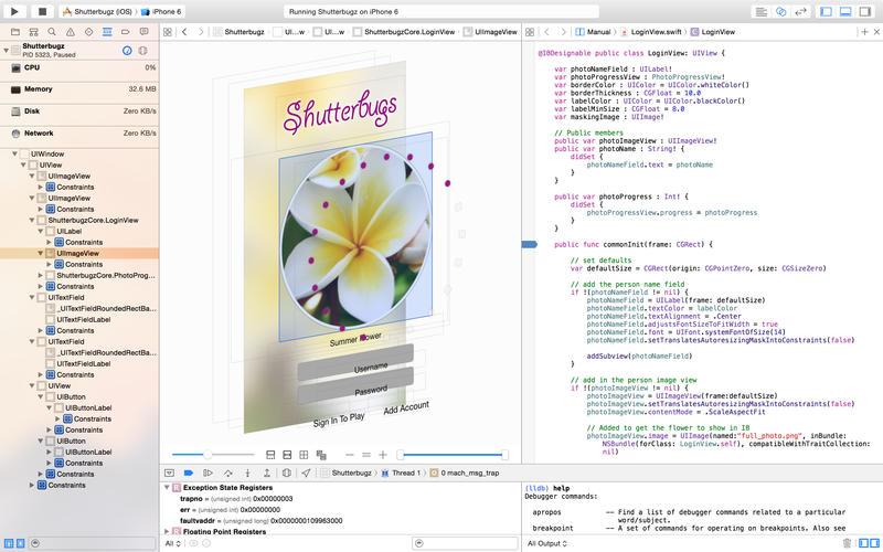 Xcode screenshot 4