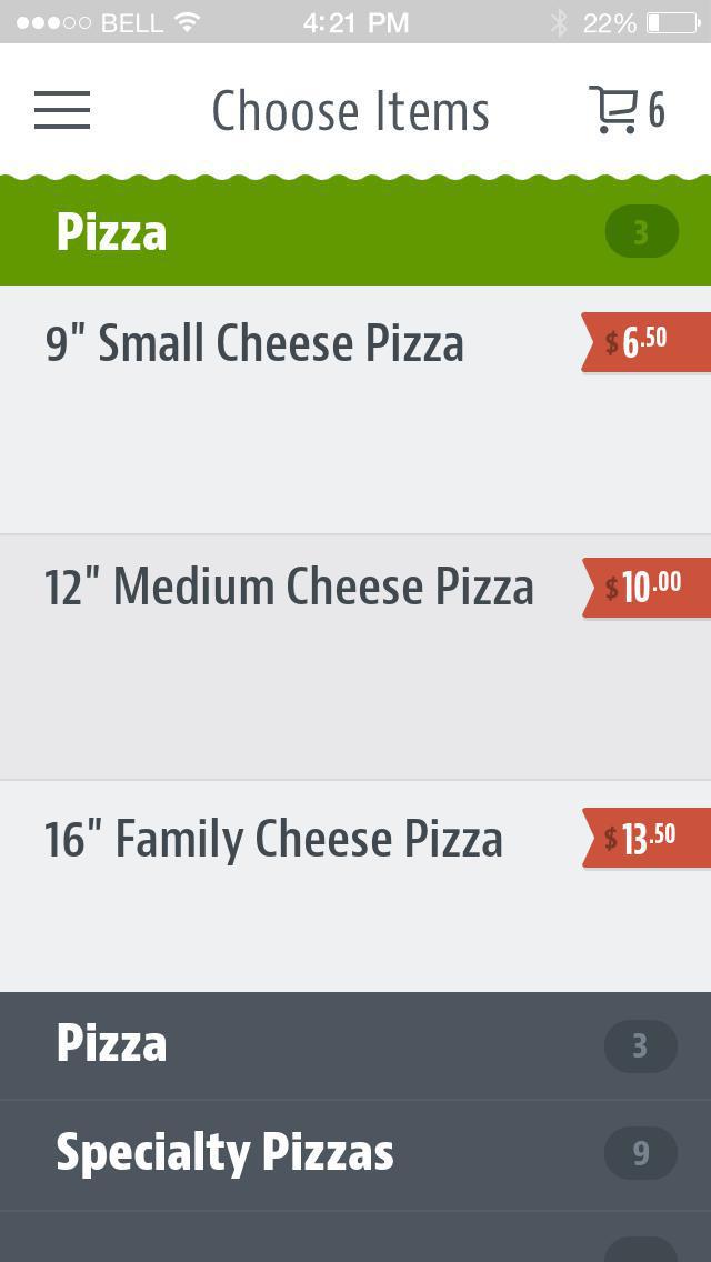 Siciliano's Pizzaria screenshot 3