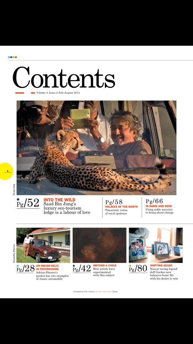 Forbes Life India screenshot 2