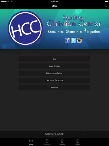 Hamilton Christian Center screenshot 4