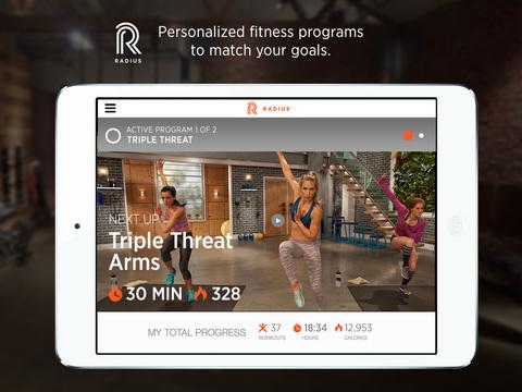 Radius Fitness screenshot 5