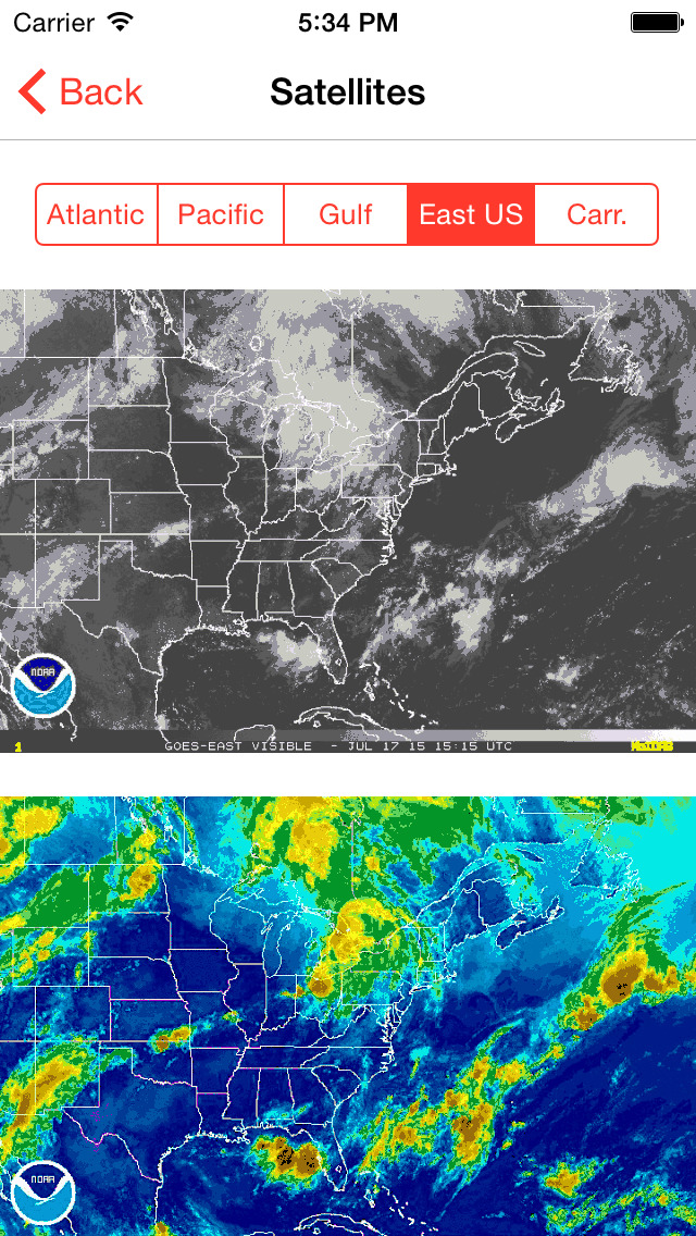 My Hurricane Tracker Pro screenshot 3