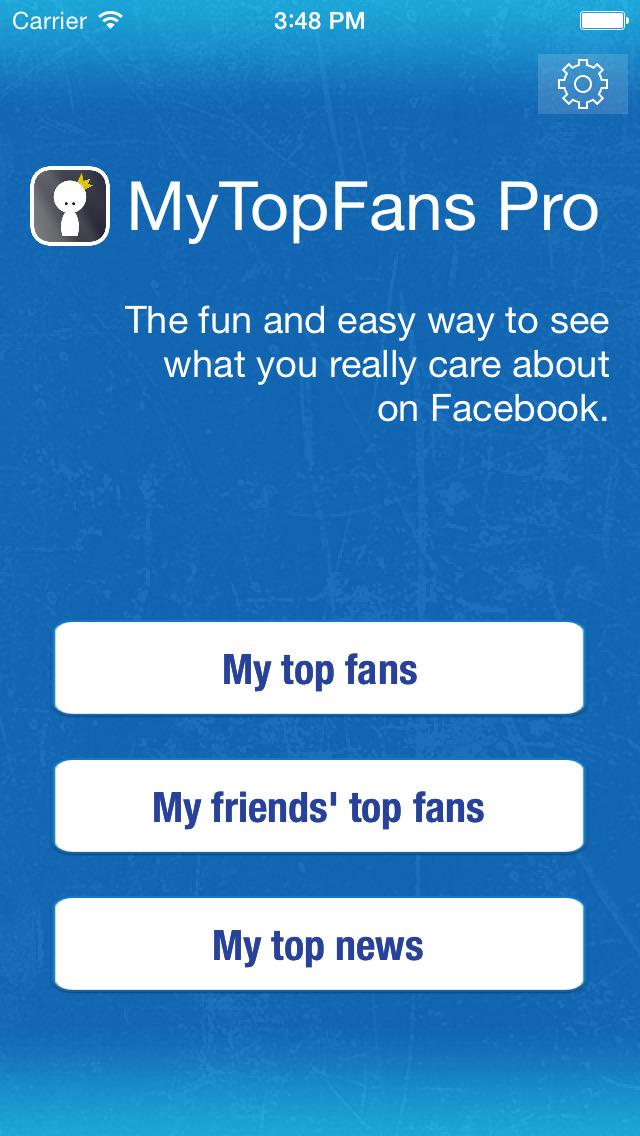 MyTopFans Pro - Social Tracker screenshot #1