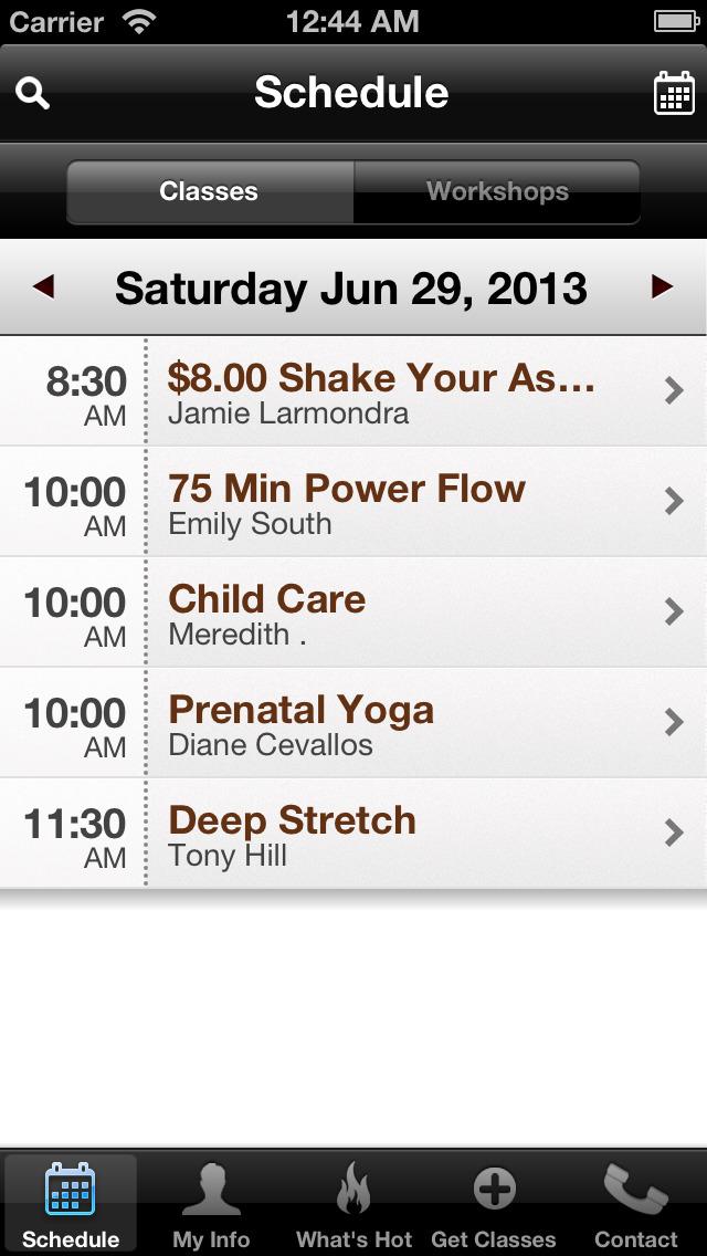 Charlotte Family Yoga Center screenshot #2