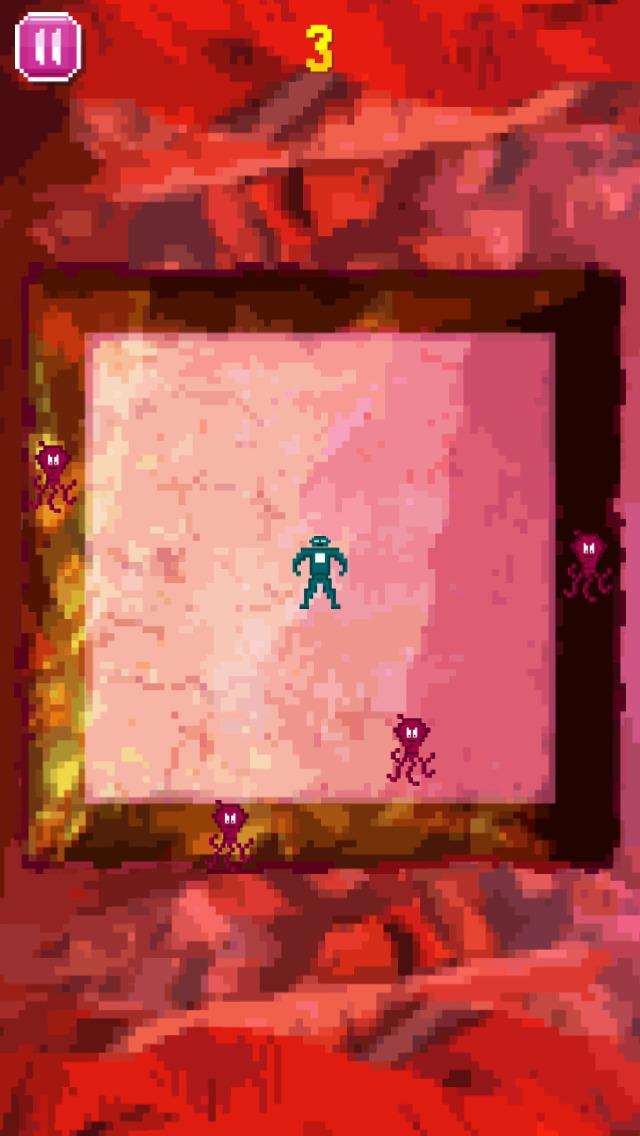 No Space Man Dies - One Man Vs. Aliens screenshot 2