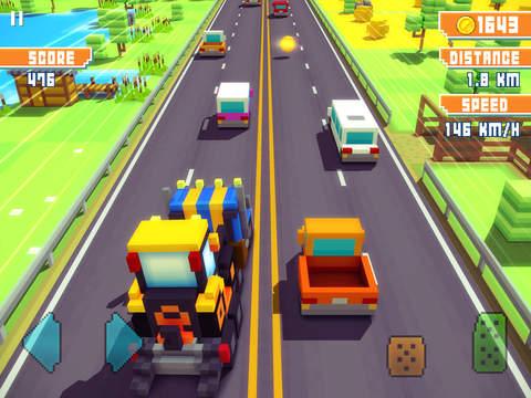 Blocky Highway screenshot 9