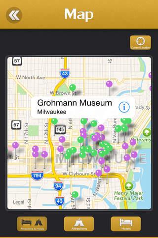 Milwaukee City Offline Travel Guide - náhled