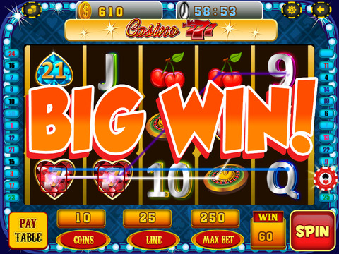 A Lucky Rabbit Slots Game - Vegas Wonderland Casino Games HD screenshot 10