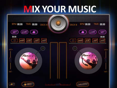 iRemix 2.0 Pro - Portable DJ Music Mixer Remix Tool screenshot 7
