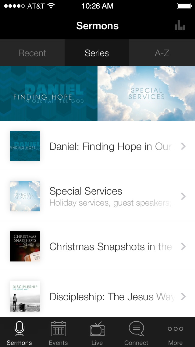EFCCL Church App screenshot 1