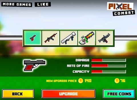 Pixel Combat : 3D Block Wars screenshot 10