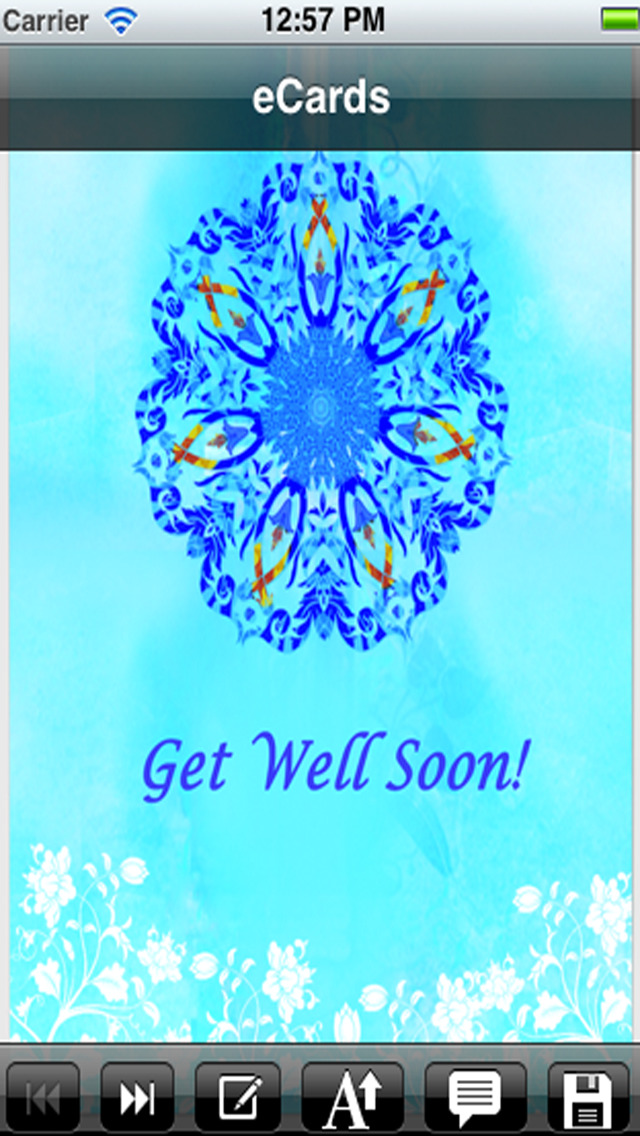 Get Well Cards with photo editor. Send get well soon greetings card and custom get well ecards with text and voice messages ! screenshot 3