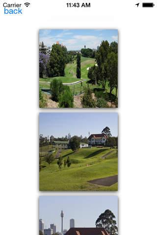 Sydney Golf Courses - náhled